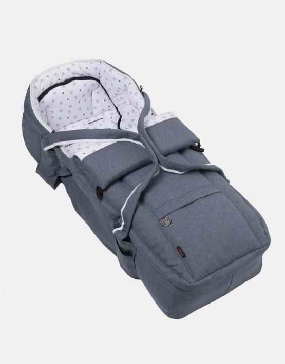 Hartan Topline S mit Softtasche – Gestellfarbe Weiß, Design 405 Kollektion 2021 2in1