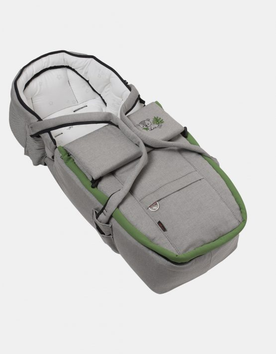 Hartan Topline S mit Softtasche – Gestellfarbe Platin, Design 421 Kollektion 2021 2in1