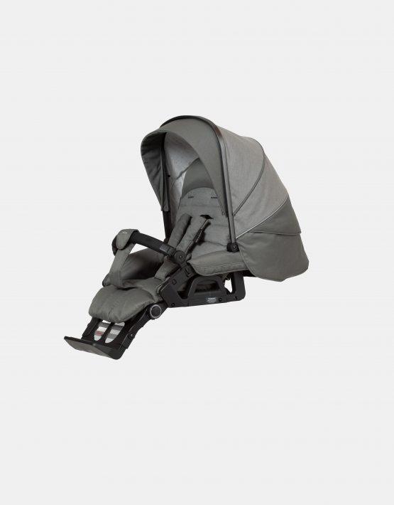 Hartan Topline S mit Softtasche – Gestellfarbe Platin, Design 414 Kollektion 2021 2in1