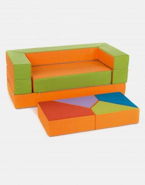Sofa Eland Puzzle Orange 4in1