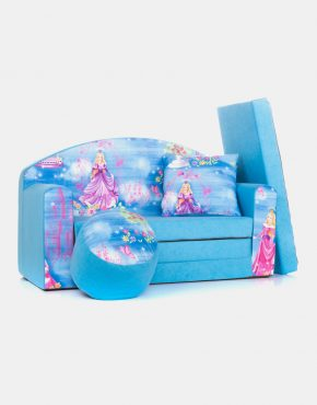 Sofa Eland 1PN Blue Princess