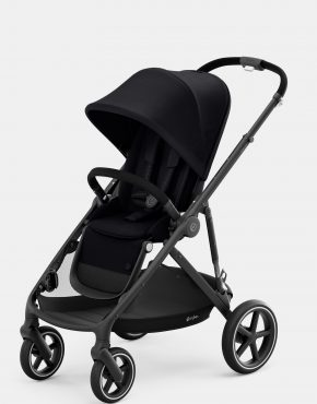 Cybex Gazelle S MONO Black Frame – Deep Black 1in1