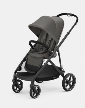 Cybex Gazelle S MONO Black Frame – Soho Grey 1in1