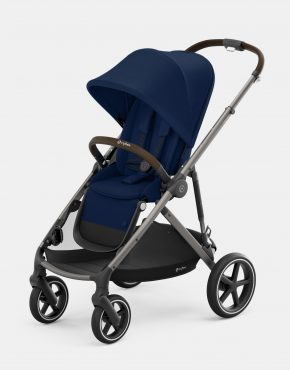 Cybex Gazelle S MONO Taupe Frame - Navy Blue 1in1