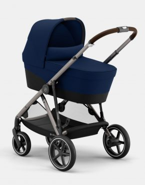 Cybex Gazelle S MONO 4in1 Taupe Frame Navy Blue