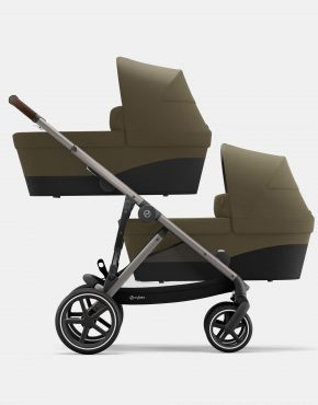 Cybex Gazelle S Duo Classic Beige - Taupe Frame 2in1
