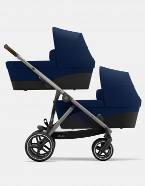 Cybex Gazelle S Duo Navy Blue - Taupe Frame 2in1