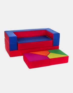 Sofa Eland Puzzle Rot 4in1