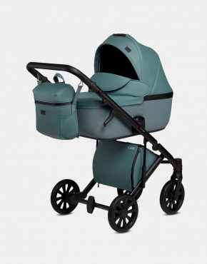 Anex E/Type Meerblau CR14 3in1 + Cybex Aton M i-Size River Blue