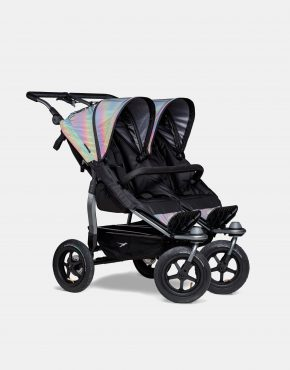 TFK Duo Sportkinderwagen Luftbereifung - Glow in the Dark