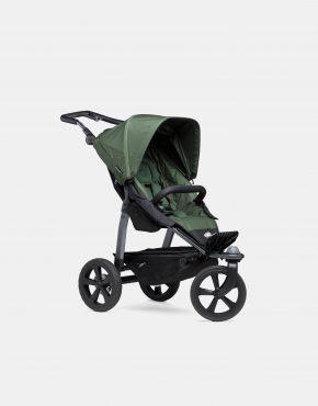TFK Mono Sportkinderwagen Luftkammer-Reifen – Olive