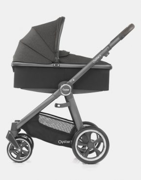 Babystyle Oyster 3.0 Pepper Graues Gestell 2in1 mit Babywanne