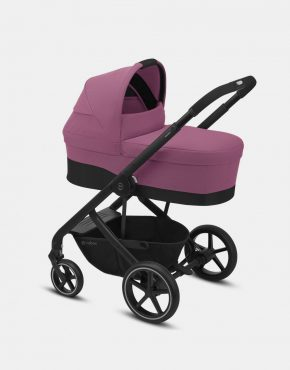Cybex Balios S LUX Black Frame – Magnolia Pink 4in1