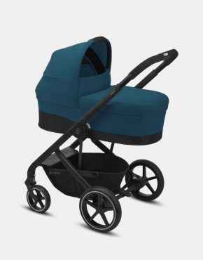 Cybex Balios S LUX Black Frame – River Blue 4in1