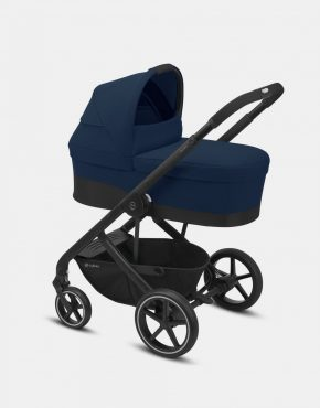 Cybex Balios S LUX Black Frame – Navy Blue 4in1