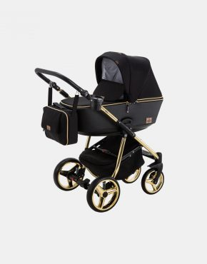 Bebe Mobile Gusto Special GS-85 Schwarz-Gold 3in1