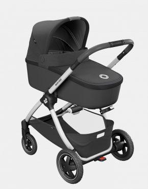 Maxi-Cosi Adorra Essential Black + CabrioFix + FamilyFix 4in1