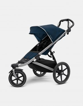 Thule Urban Glide 2 Alu/ Majolica Blue Kollektion 2021 2in1