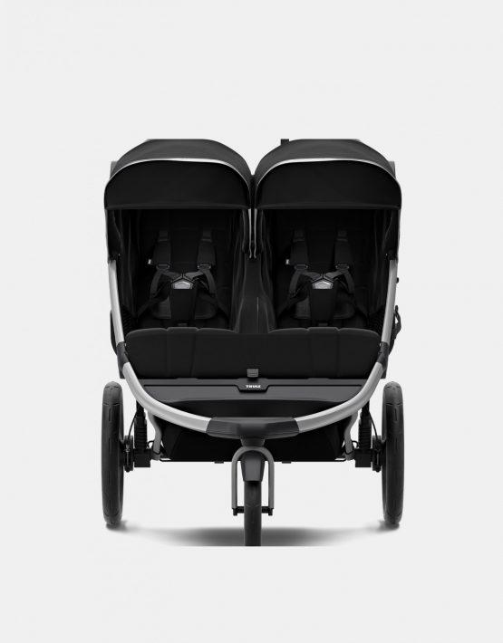 Thule Urban Glide 2 Double Geschwisterwagen Kollektion 2021 Jet Black 2in1