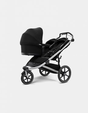 Thule Urban Glide 2 Double Geschwisterwagen Kollektion 2021 Jet Black 2in1
