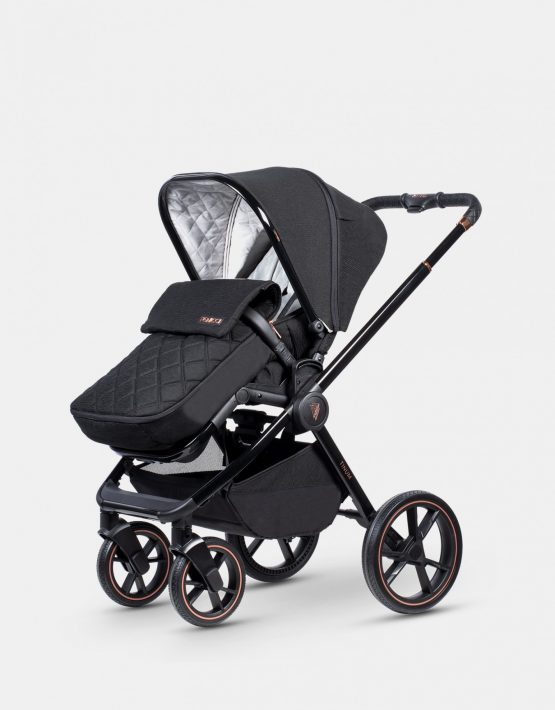 Venicci Tinum SE Stylish Black 2in1