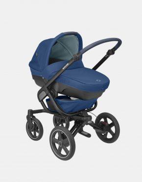 Maxi-Cosi Nova 4 Essential Blue + Babywanne Jade + Coral 3in1