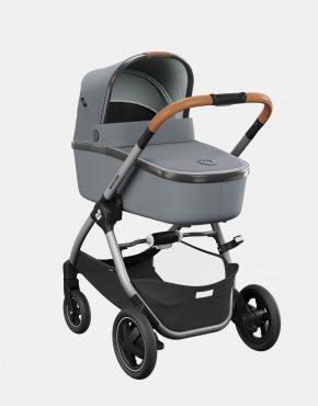 Maxi-Cosi Adorra 2 Essential Grey + Babywanne Oria + Pebble Pro + FamilyFix3 4in1