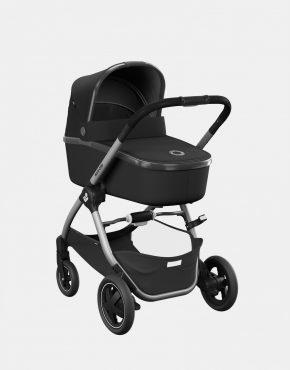 Maxi-Cosi Adorra 2 Essential Black + Babywanne Oria + Pebble Pro + FamilyFix3 4in1
