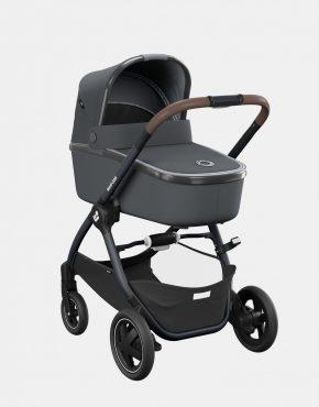 Maxi-Cosi Adorra 2 Essential Graphite + Babywanne Oria + Pebble Pro + FamilyFix3 4in1