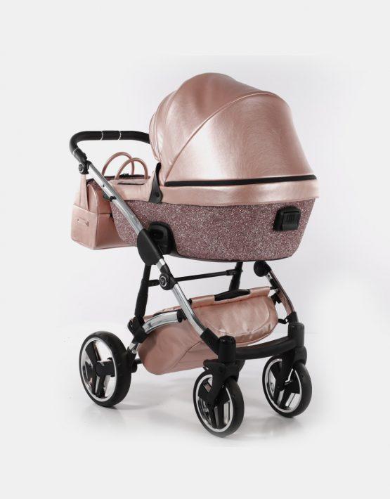 Junama Glitter 06 Pastellrosa - Silver 3in1