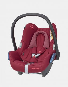 Maxi Cosi CabrioFix mit Basisstation EasyFix Essential Red 2in1