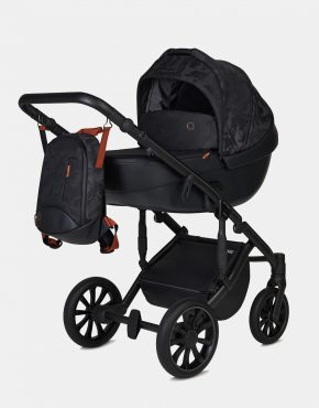 Anex M/Type QSE-06 Hide Kollektion 2021 + Cybex Aton M i-Size Deep Black 3in1