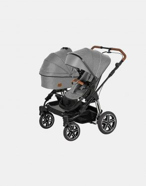 Hartan Two Select Geschwisterwagen Dessin 427 - Grey