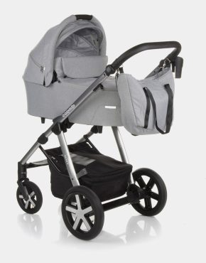 Baby Design Husky 107 Silver Gray 2in1