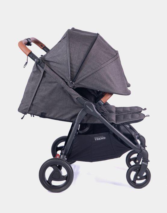 Valco Baby Snap Duo Trend Geschwisterwagen Charcoal 2in1