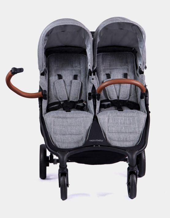 Valco Baby Snap Duo Trend Geschwisterwagen Grey Marble 2in1